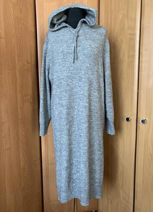 Платье свитшот с шерстью h&m p. 38-40