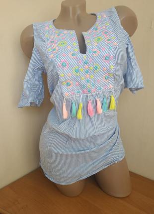 Вышиванка вышитая блузка