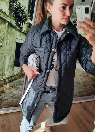 Куртка рубашка в стиле zara