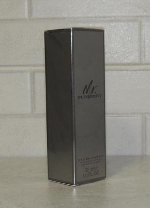 Burberry mr. burberry eau de parfum 30 мл для мужчин оригинал