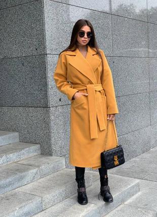 ▫️базовое пальто на осень.классическое яркое пальто голубого, сиреневого, бежевого,черного,красного цвета . гладкое пальто кашемир xs,s,m