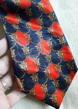 Винтажный галстук lanvin