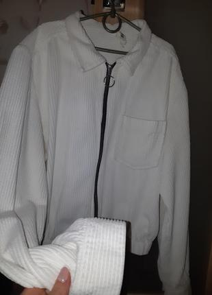 Вельветовая рубашка