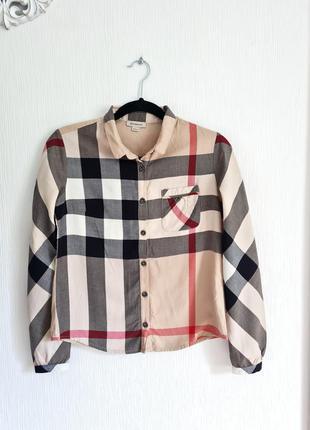 Рубашка монограмма burberry оригинал