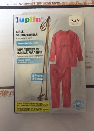 Фирменное термобелье lupilu термо белье 86-92