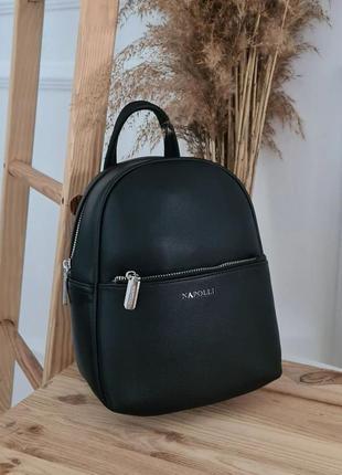 Черный крутой рюкзачок