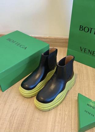 Крутые сапоги, ботинки в стиле bottega  veneta