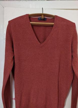 Пуловер из 100% мериносовой шерсти