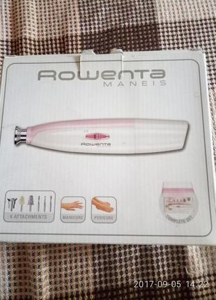 Продам rowenta , аппарат для маникюра и педикюра.торг