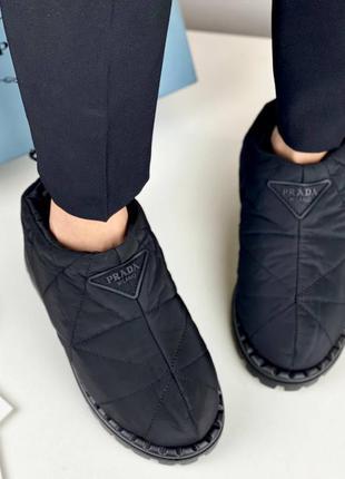 Дутики ботинки женские черные брендовые