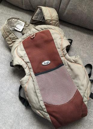 Рюкзак-кенгуру, слінг, переноска для дитини - evenflo snugli