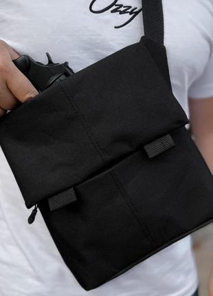 Мужская сумка кабура тактическая с карманом под пистолет. живое фото