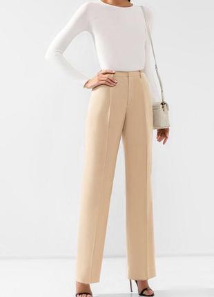 Ralph lauren брендовые шерстяные шерсть классические штаны брюки на высокой посадке талии