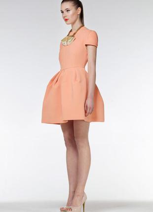 Дизайнерское платье из неопрена scuba viper dress aqua
