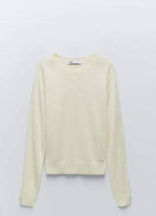 Новий лонгслів кофта светр zara розмір 38(м)