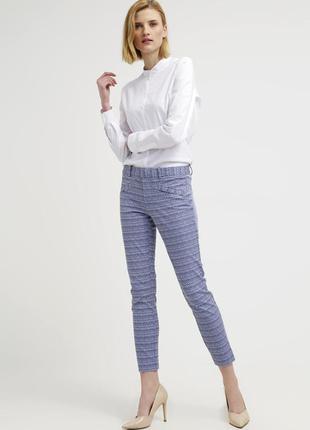 Распродажа! женские брюки gap, плотные штаны в орнамент, фирменные джинсы