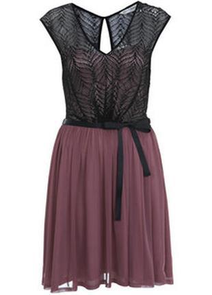 Роскошное коктейльное платье #395  miss selfridge