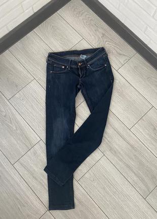 Джинсы скинни укороченные джинсы