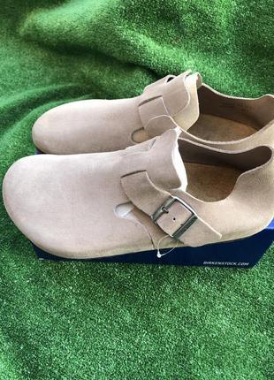 Туфли макасины birkenstock clogs
