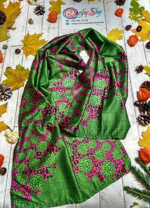 1+1=3 🔥 красивенный весенний шарфик атласный шарф
