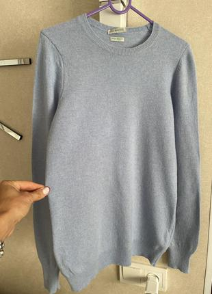 Шерстяной свитер джемпер бенеттон размер хс-с