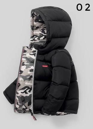 Куртка крутая двухсторонняя