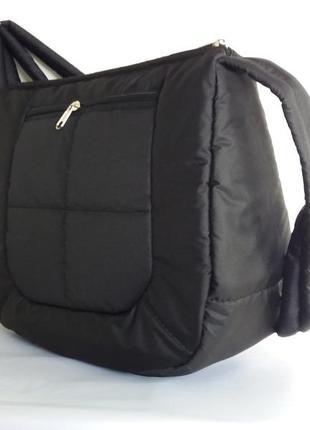 Клатч сумка дутик демисезонный длинная ручка цвета