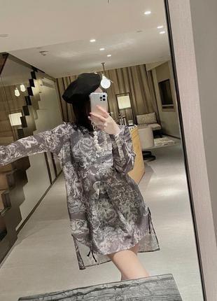 Блузка /рубашка в стиле диор dior