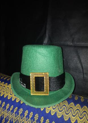 Шляпа леприкона цилиндр
