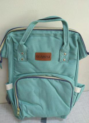 Сумка-рюкзак для мам dearest, рюкзак для путешествий,сумка- рюкзак для мам