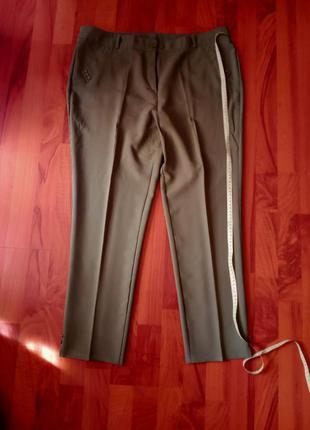 Укороченные брюки большого размера