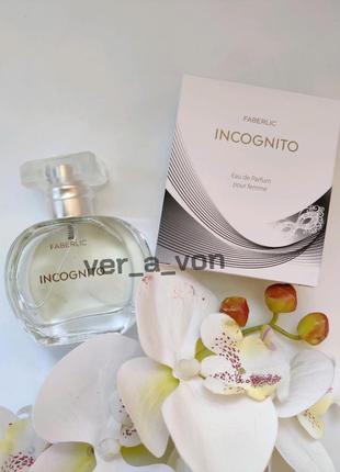 Женская парфюмерная вода incognito фаберлик