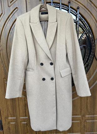 Пальто теплое шерсть