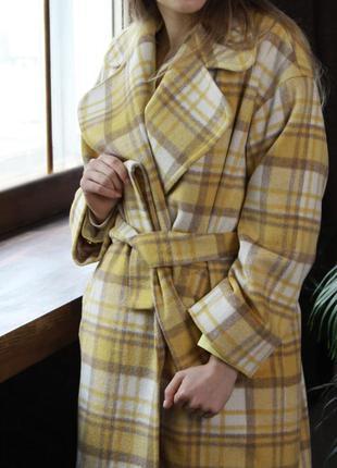 Пальто жіноче. пальто жіноче клітинка