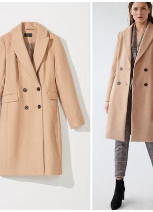 Пальто с добавлением шерсти mohito