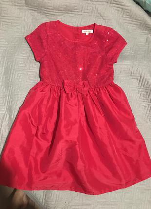 Красивое платье на девочку 6 лет