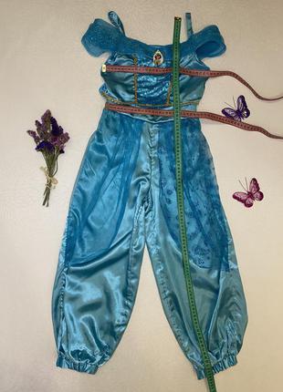 Костюм принцессы диснея жасмин восточный карнавальный маскарадный