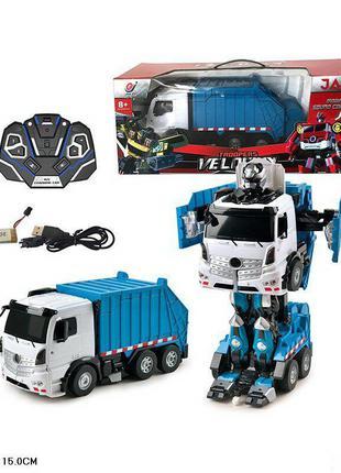 Трансформер машина мусоровоз 676