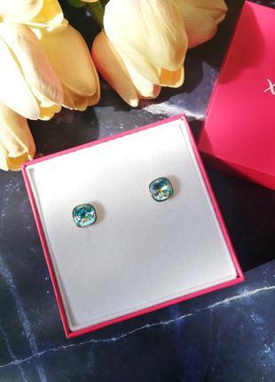 Красивейшие серьги xuping с кристаллами swarovski 💎