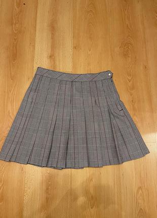 Юбка в складку   юбка «школьницы»   мини юбка