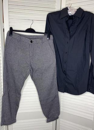 Стильные укорочённые брюки imperial (италия)