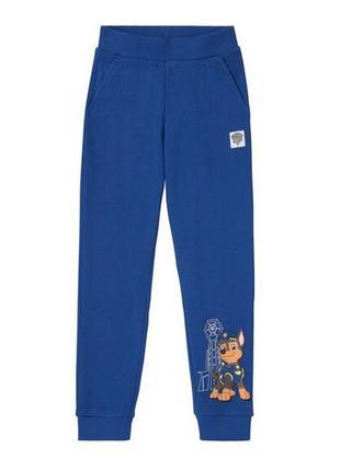 Плотные спортивные штаны щенячий патруль. lupilu. шикарное качество!