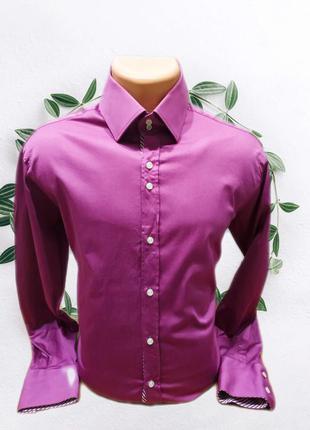 Ярка рубашка премиум класа gentil ulomo , италия ( офиц. цена 95 англ. фунтов стерл.)