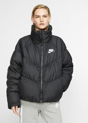 Оригинал! куртка nike w nsw dwn fill jkt stmt bv2879-010