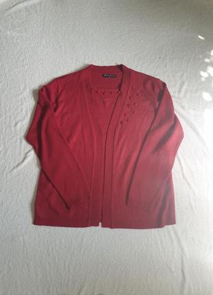 Женский свитер-кофта(кашемир+шерсть)