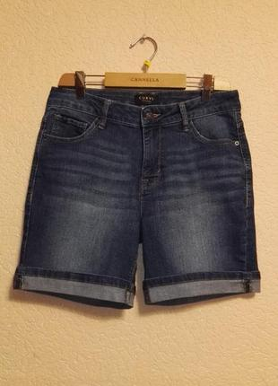 Шорты джинсовые женские размер w28 (44-46размер) от  curve appeal