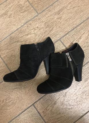 Ботинки бательены  натуральная замша
