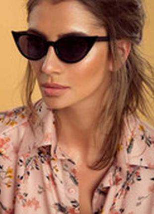 8 ультрамодные солнцезащитные очки кошачий глаз