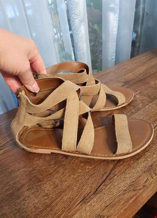 Босоножки сандали  кожа