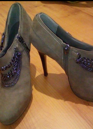 Туфли/ ботинки/ ботильоны на каблуке